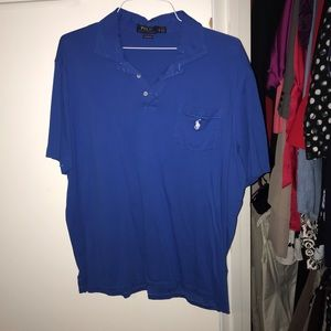 Royal blue Polo Ralph Lauren polo shirt